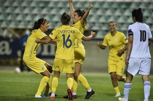 Разгром на Оболонь-Арене. Женская сборная Украины уверенно одолела Грецию