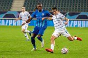 InStat: Де Пена – лучший игрок Динамо в матче против Гента