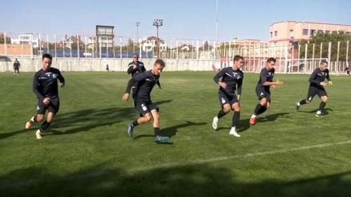 ВИДЕО. Черноморец готовится к матчу с Вересом