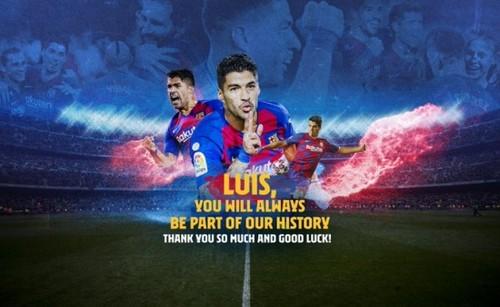 ВИДЕО. «Прощай, легенда». Барселона попрощалась с Суаресом