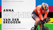 Голландка Ван дер Брегген – чемпионка мира по велоспорту в разделке