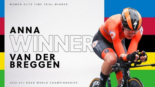 Голландка Ван дер Брегген - чемпіонка світу з велоспорту в розділці