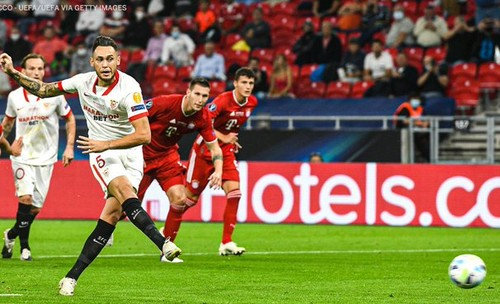 ВИДЕО. Бавария и Севилья обменялись забитыми голами в первом тайме