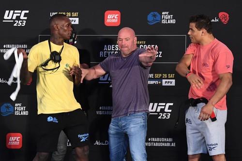 UFC 253: Исраэль Адесанья – Пауло Коста. Смотреть онлайн. LIVE трансляция