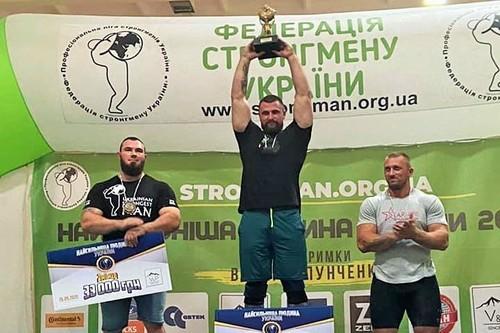 Павло Кордіяка  - Найсильніша Людина України