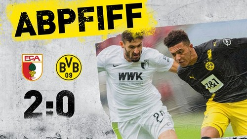 Аугсбург - Боруссия Дортмунд - 2:0. Видео голов и обзор матча