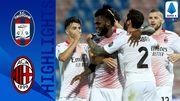 Кротоне - Милан - 0:2. Видео голов и обзор матча