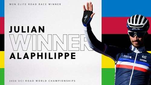 Жулиан Алафилипп – чемпион мира по велоспорту