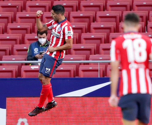 Два гола и ассист. Суарес фантастически дебютировал за Атлетико в Ла Лиге