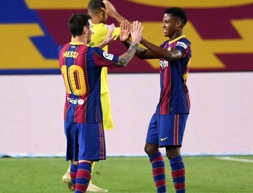 Дубль Фаті, Мессі забив пенальті. Барселона знищила Вільярреал