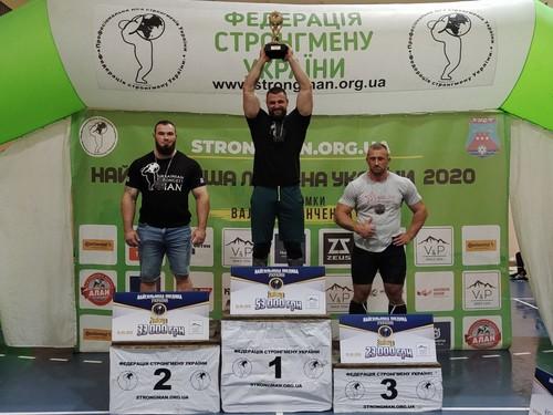 Найсильніша людина України-2020: сталеві м'язи під карпатською зливою