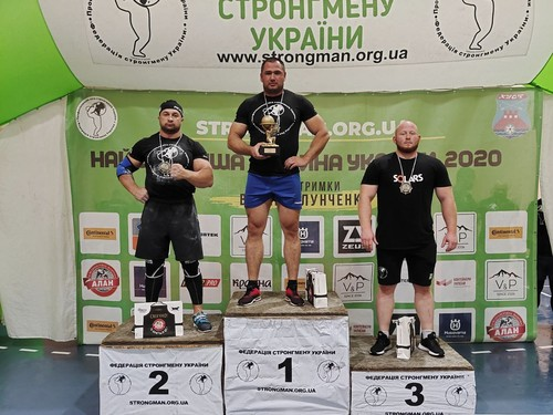 Богдан Копил – переможець Першої ліги стронгмену