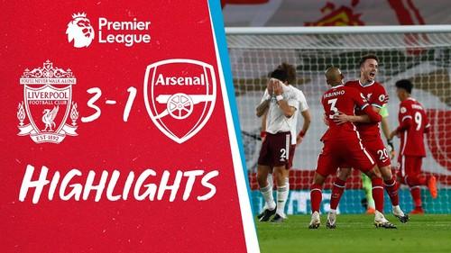 Ліверпуль – Арсенал – 3:1. Відео голів та огляд матчу