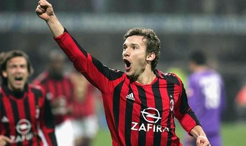 Милан поздравил Шевченко с 44-летием