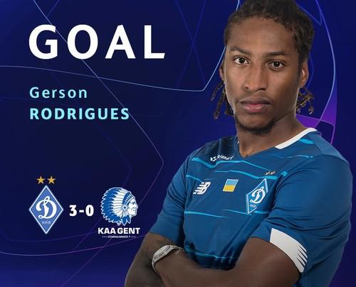 ВІДЕО. Третій гол! Жерсон Родрігеш забив пенальті після фолу на Супрязі