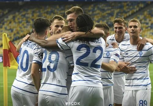 Динамо будет сеяться в групповом раунде Лиги чемпионов с 3-й корзины