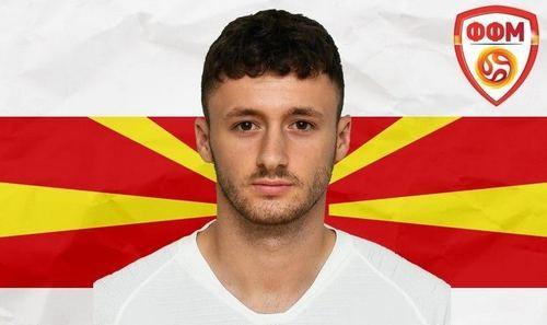 Игрок Зари вызван в сборную Северной Македонии U-21