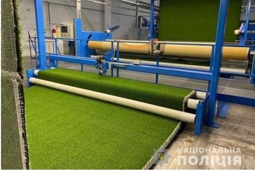 ФОТО. Раскрыты махинации при строительстве полей с искусственным покрытием