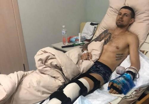 ФОТО. Украинский легкоатлет после страшного ДТП перенес три операции