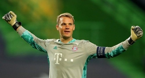 Мануэль Нойер признан лучшим вратарем Лиги чемпионов 2019/20