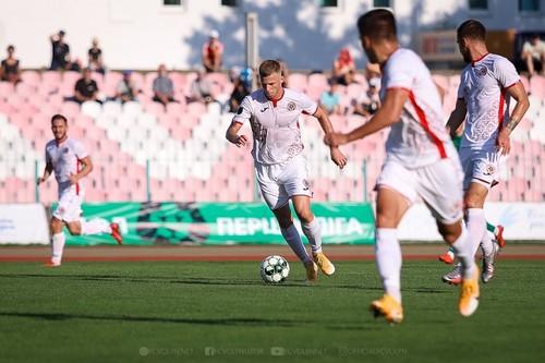 Первая лига. Нива забила 4 гола в матче с Волынью, но сыграла вничью