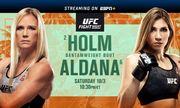 Где смотреть онлайн бой UFC: Холли Холм – Ирен Алдана