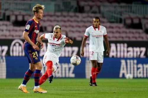 Барселона – Севилья – 1:1. Текстовая трансляция матча