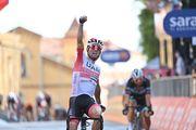 Джиро д'Италия. Улисси выиграл второй этап