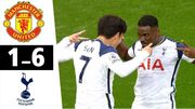 Манчестер Юнайтед – Тоттенхэм – 1:6. Видео голов и обзор матча