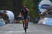 Джиро д'Италия. Вторая победа Ганны