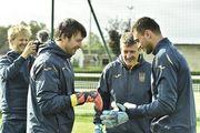 Георгий Бущан стал 27-м вратарем в истории сборной Украины