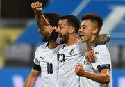 Тоже получили полную корзину. Италия забила Молдове шесть мячей