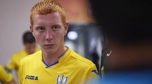 За сборную Украины впервые сыграл игрок Десны