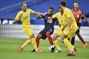 В матче против Франции сборная Украины установила два личных антирекорда