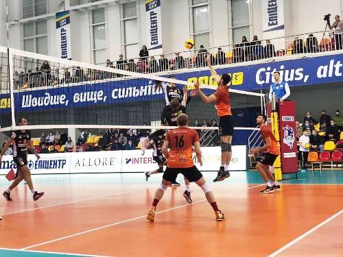 ВК МХП-Винница одержал две победы на старте мужской Суперлиги