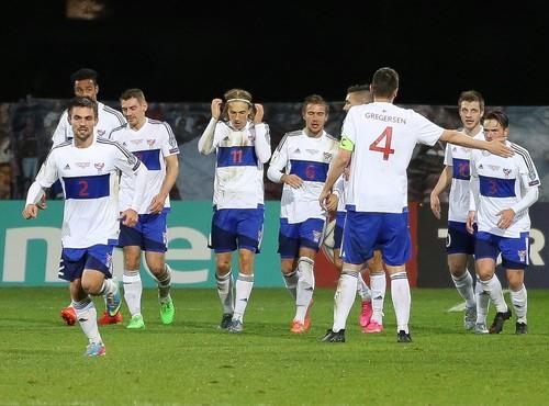 Фарерские острова – Латвия – 1:1. Видео голов и обзор матча
