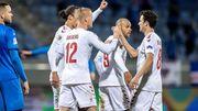 Исландия – Дания – 0:3. Видео голов и обзор матча