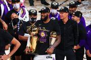 Леброна Джеймса признали MVP финальной серии НБА