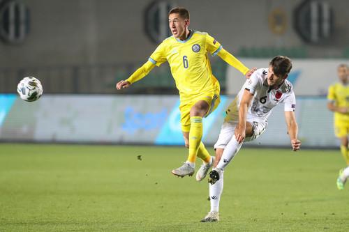 Ліга націй C. Казахстан і Албанія зіграли в безгольову нічию