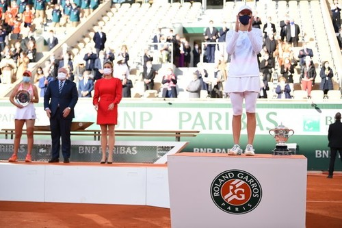 Женский финал Ролан Гаррос побил рекорд телевизионных трансляций в Польше