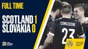 Шотландия – Словакия – 1:0. Видео гола и обзор матча