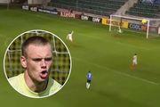 ВІДЕО. Куди втік воротар? Як естонці забили самі собі гол в Лізі націй