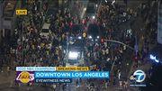 Празднование чемпионства Лейкерс в Лос-Анджелесе закончилось погромами