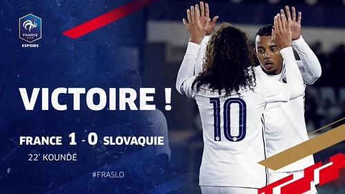 Франция победила Словакию и продолжает борьбу за путевку на Евро-2021 U-21