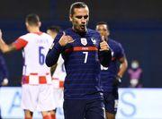 ВИДЕО. Гризманн открыл счет в гостевом матче Франции против Хорватии