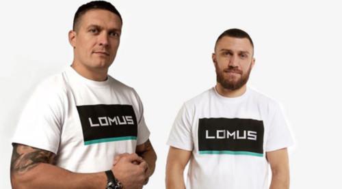 ФОТО. Усик и Ломаченко поздравили защитников Украины с праздником