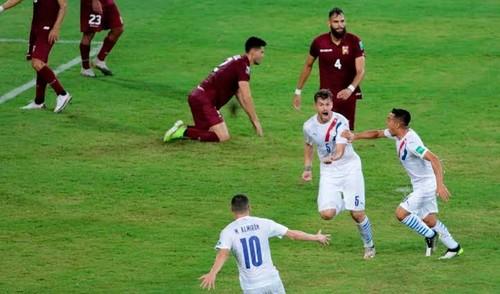 Венесуэла – Парагвай – 0:1. Видео гола Гастона Хименеса и обзор матча