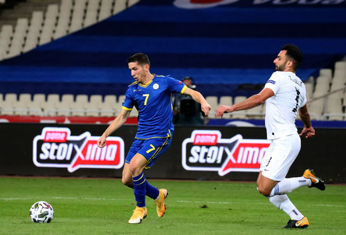 Греция – Косово – 0:0. Обзор матча