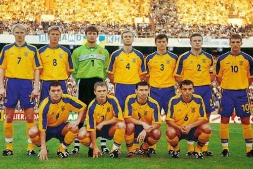 Ретроматч. Украина – Франция, 1999 год