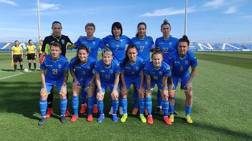 Женская сборная Украины поднялась на одну строчку в рейтинге ФИФА